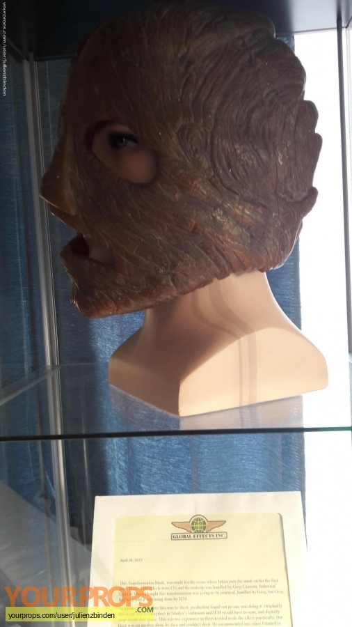 The Mask original make-up   prosthetics