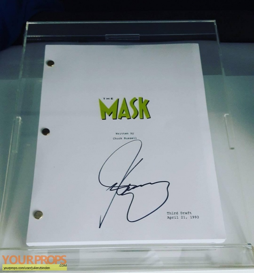 The Mask replica production material
