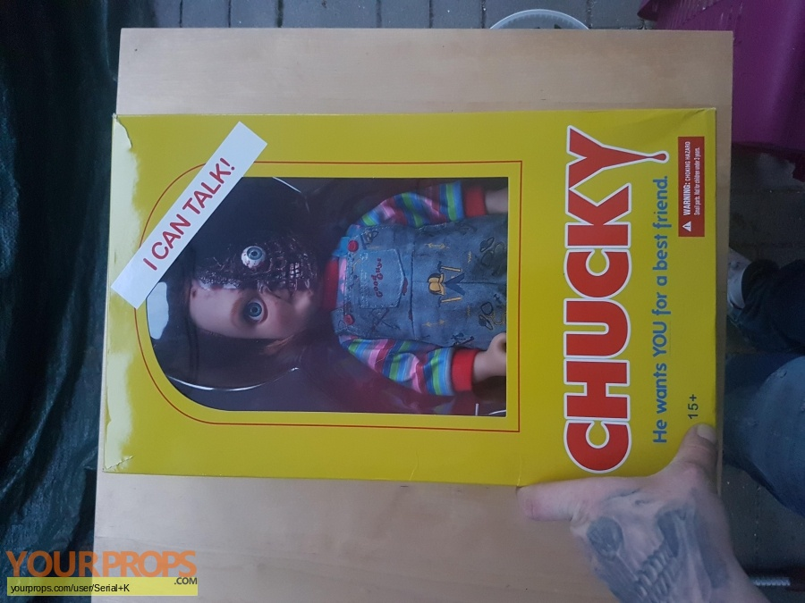 Childs Play 3 replica movie prop