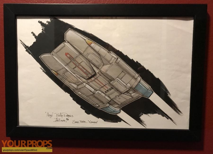 Star Trek  Nemesis original production artwork