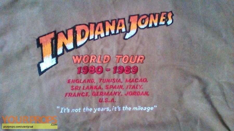 Indiana Jones And The Last Crusade original production material