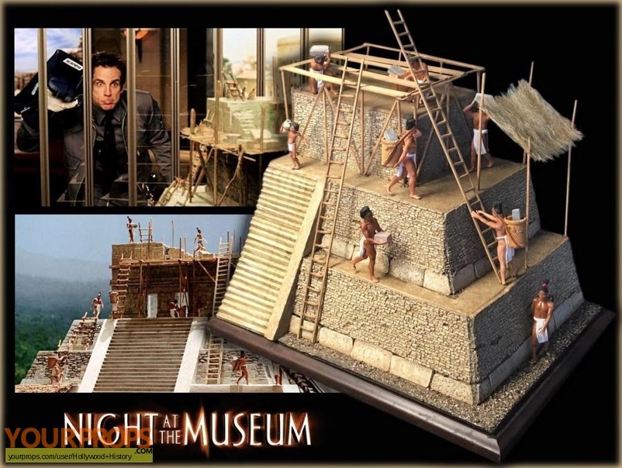 Night at the Museum original movie prop