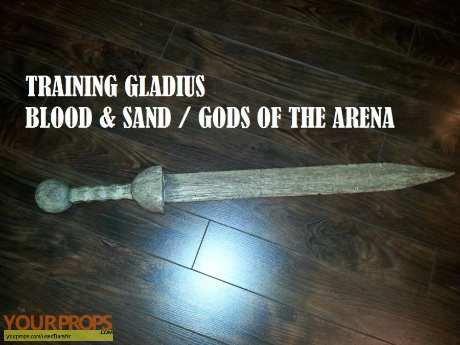 Spartacus  Gods of the Arena original movie prop weapon