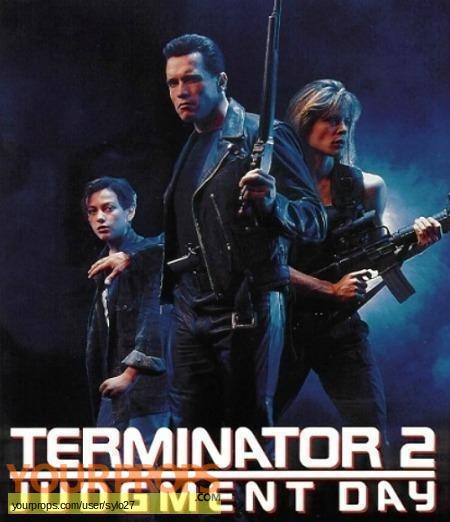Terminator 2  Judgment Day original model   miniature