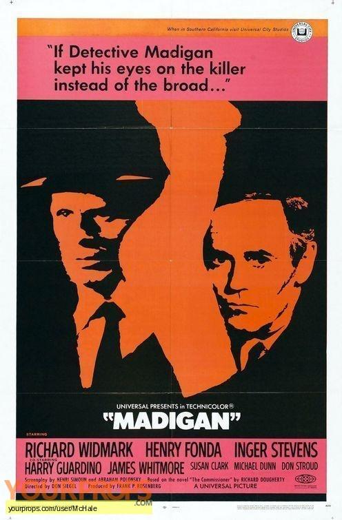 Madigan replica movie prop