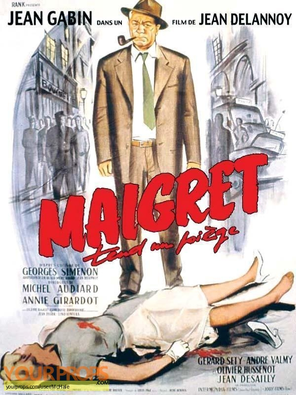 Maigret Tend un Piege replica movie prop