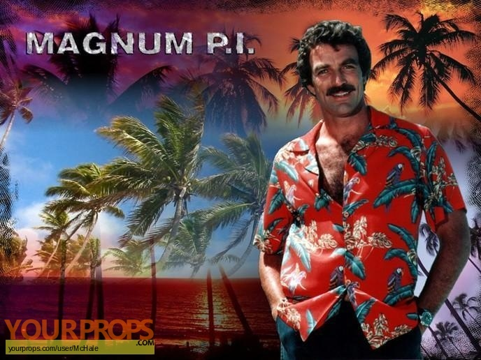 Magnum  P I  replica movie prop