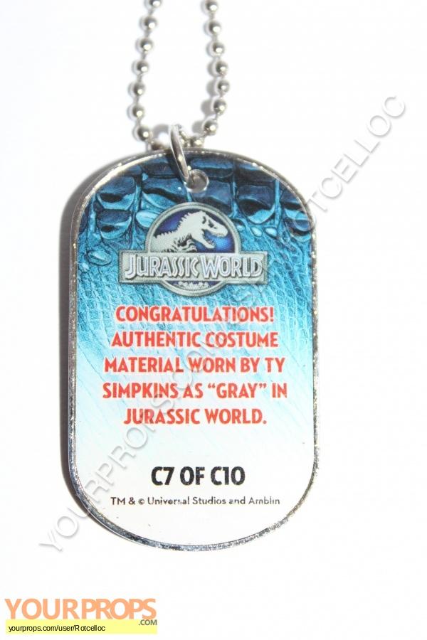 Jurassic World swatch   fragment movie costume