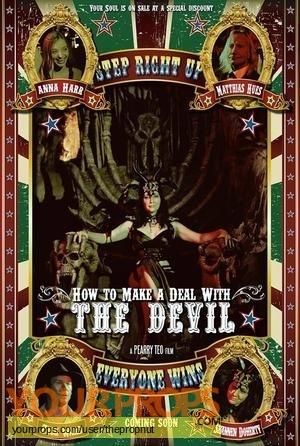 How to Make a Deal with the Devil original set dressing   pieces