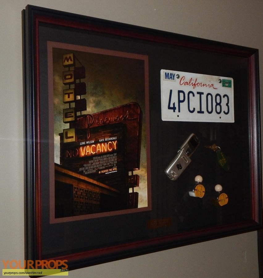 Vacancy original movie prop
