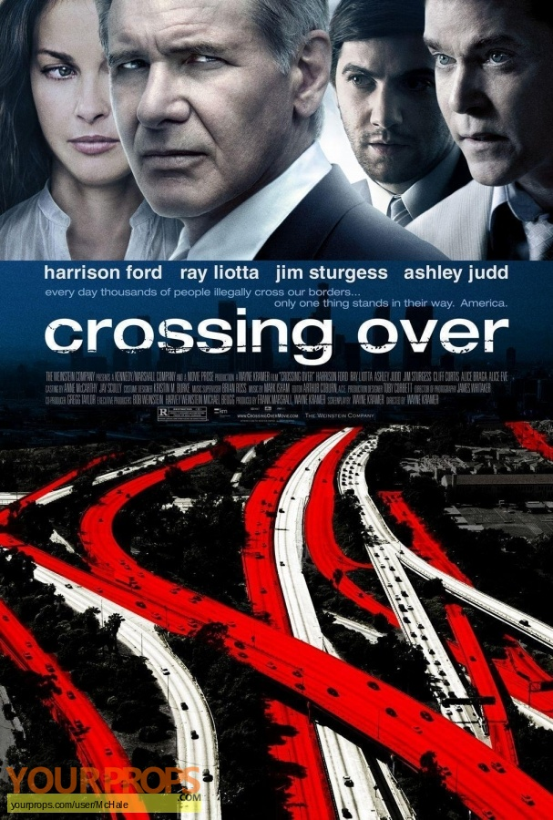 Crossing Over replica movie prop