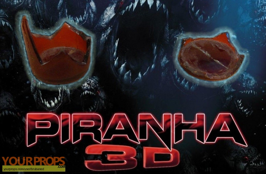 Piranha 3D original movie prop