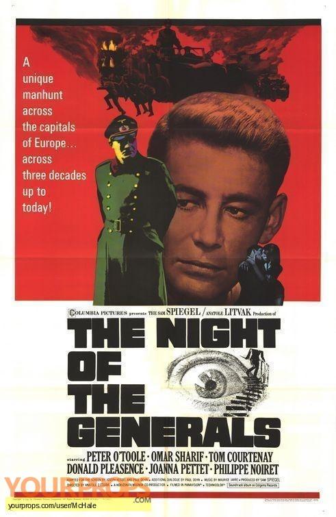 The Night of the Generals replica movie prop