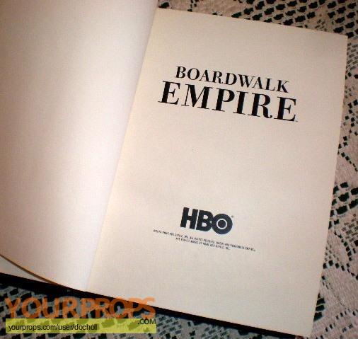 Boardwalk Empire original film-crew items