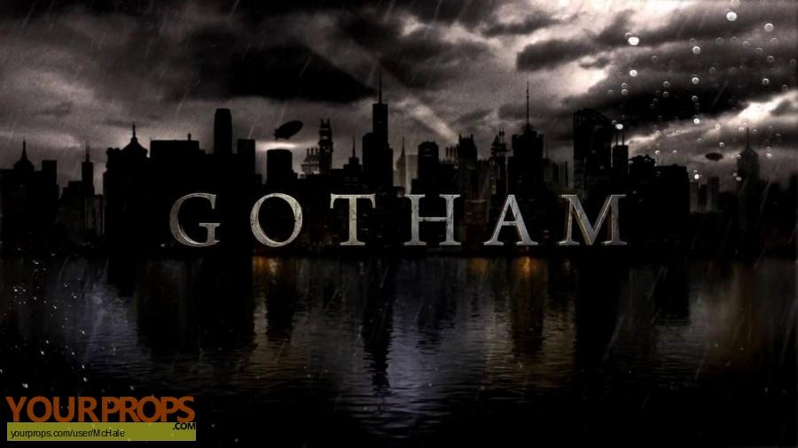 Gotham replica movie prop