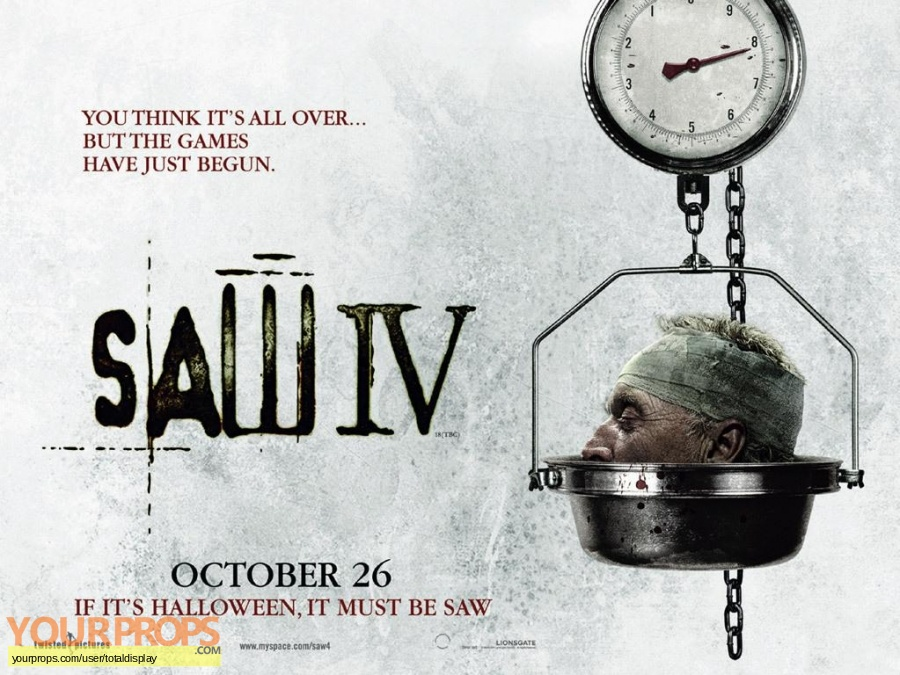 Saw IV original movie costume