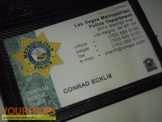 CSI Las Vegas replica movie prop