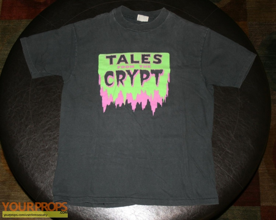 Tales from the Crypt original film-crew items