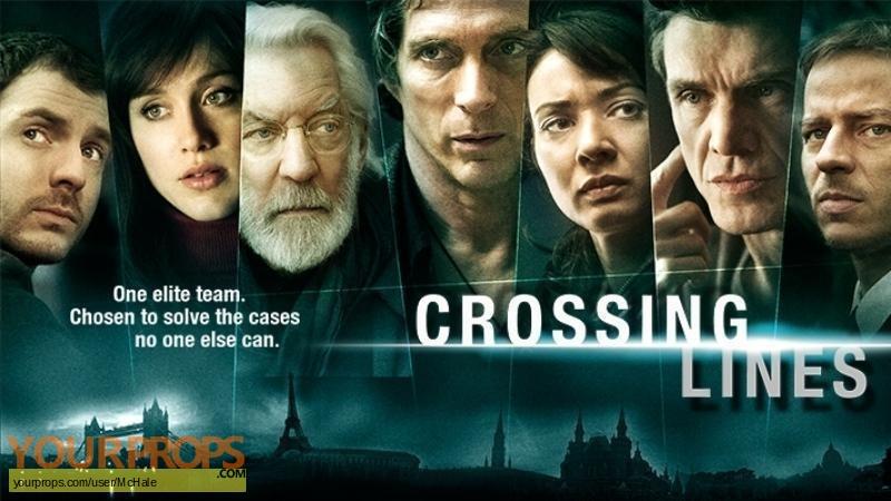 Crossing Lines replica movie prop