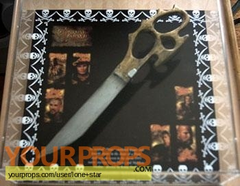 Cutthroat Island original movie prop weapon