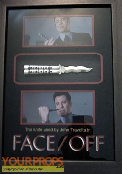 Face Off original movie prop weapon