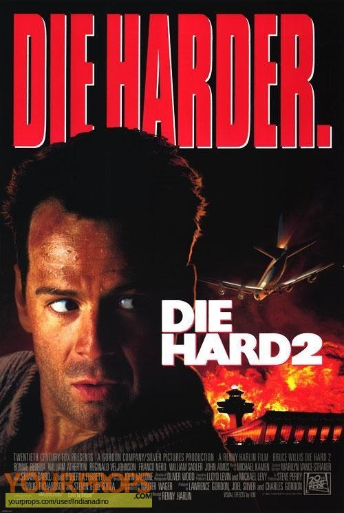 Die Hard 2 original production material