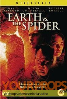 Earth vs  The Spider original production material