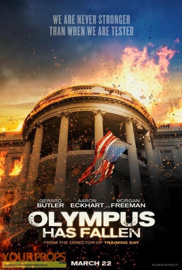 Olympus Has Fallen original production material