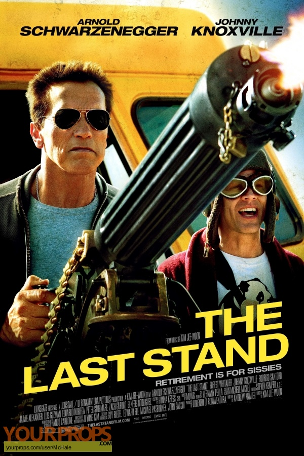 The Last Stand original movie prop