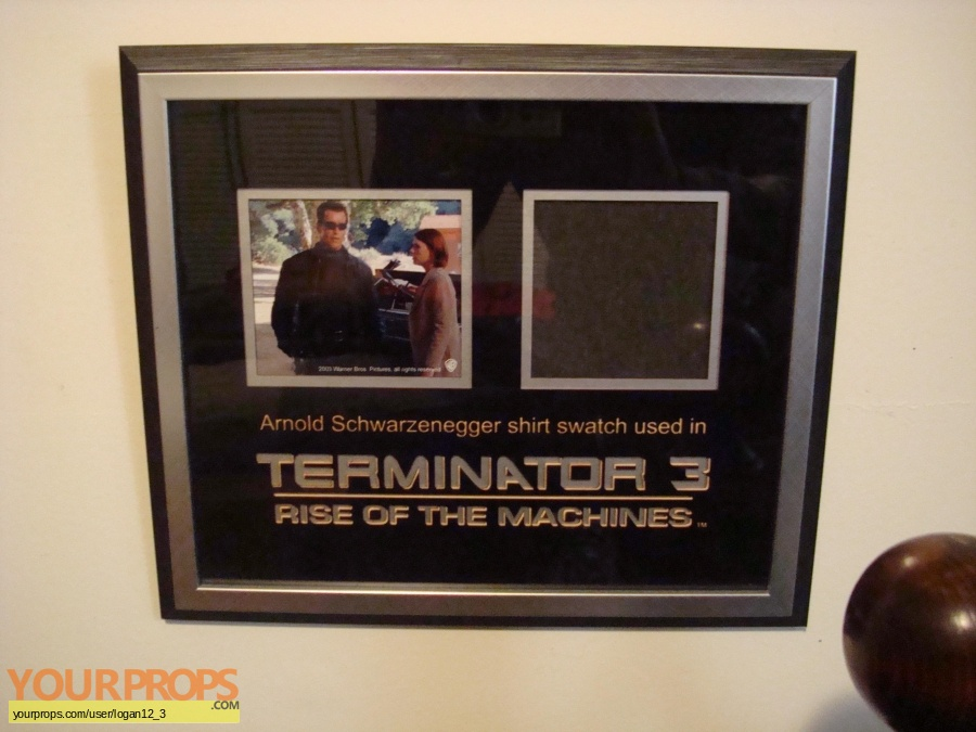 Terminator 3  Rise of the Machines swatch   fragment movie costume