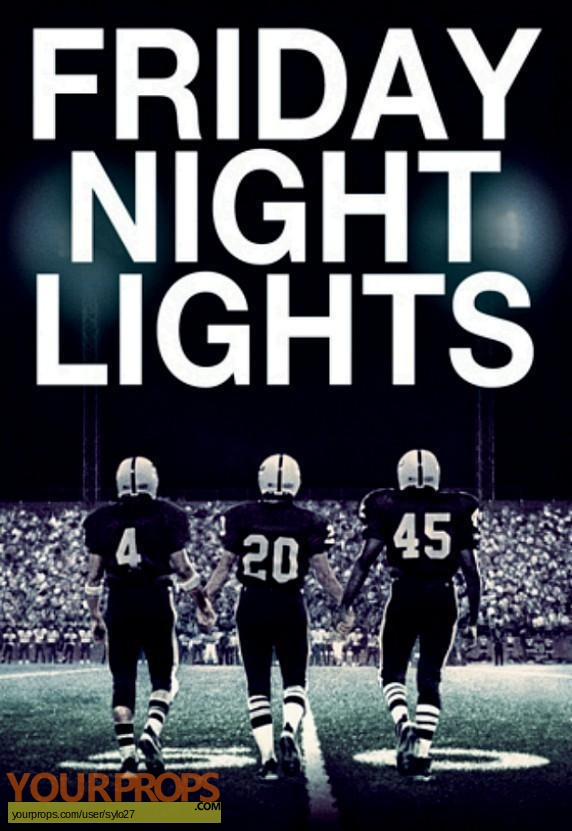 Friday Night Lights original movie prop