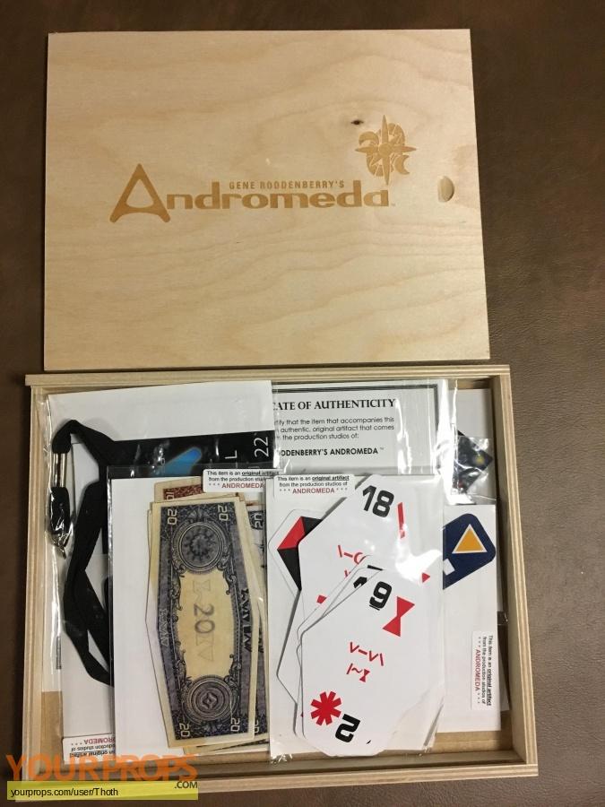 Andromeda replica film-crew items