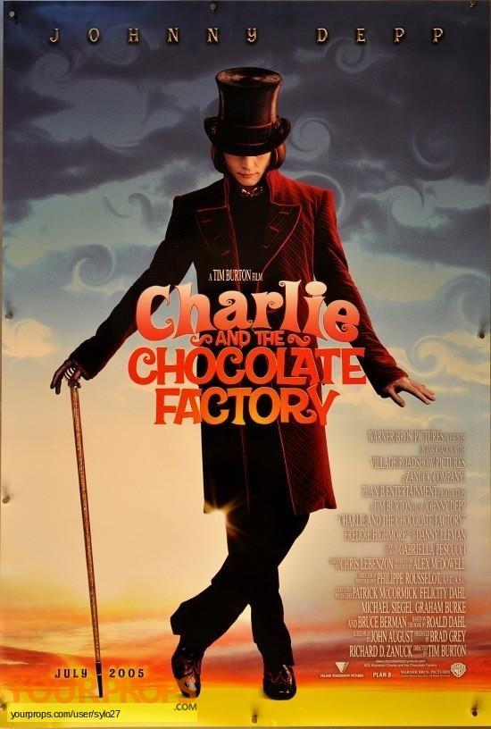 Charlie and the Chocolate Factory original set dressing   pieces