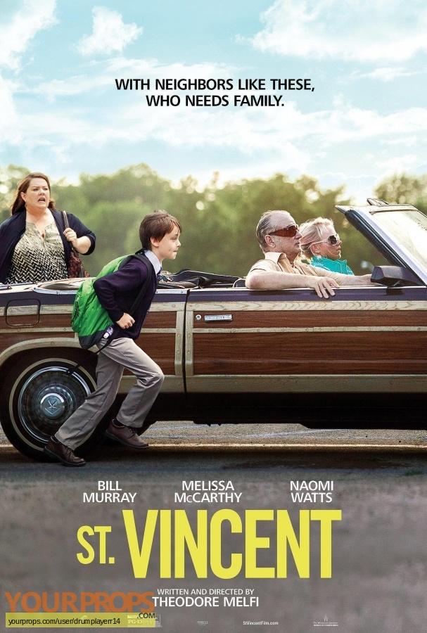 St  Vincent original movie prop