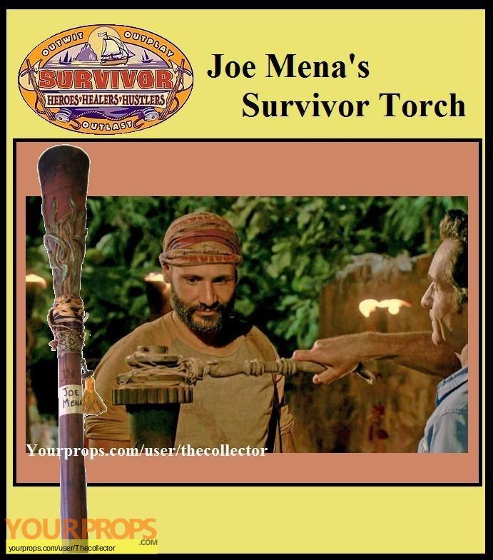 Survivor Heroes vs Healers vs Hustlers original movie prop