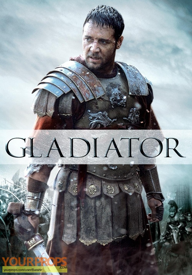 Gladiator replica movie prop