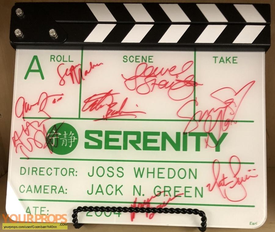 Serenity original production material