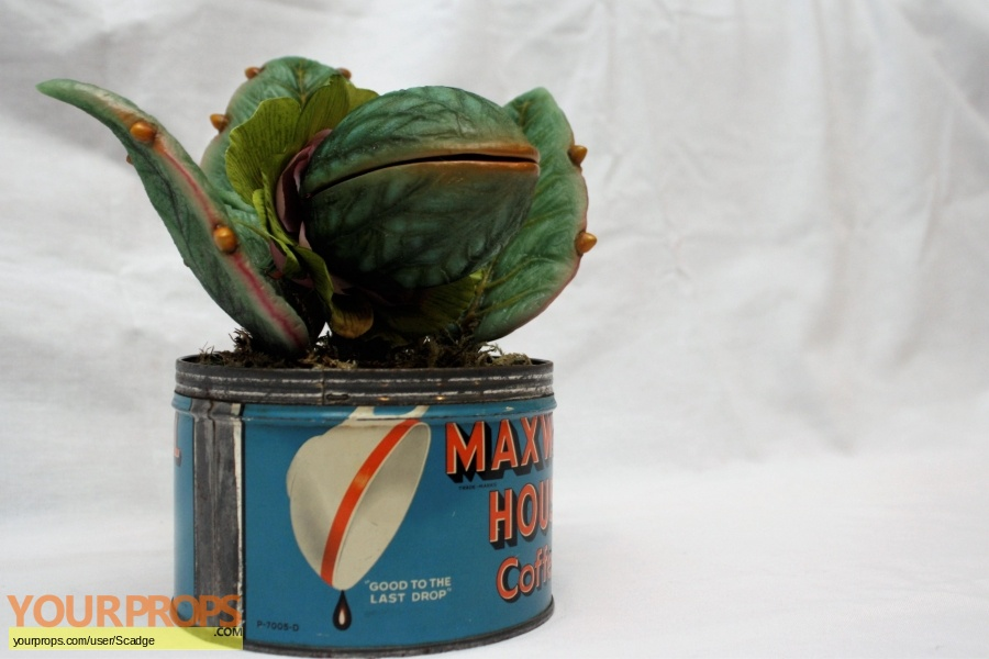 Little Shop of Horrors made from scratch movie prop