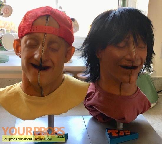 Bill and Teds bogus journey original make-up   prosthetics