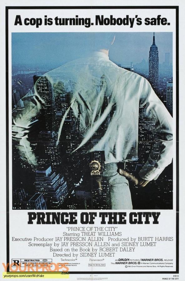 Prince of the City replica movie prop