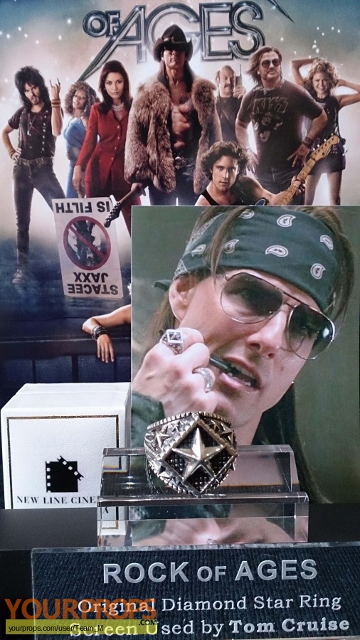 Rock of Ages original movie prop