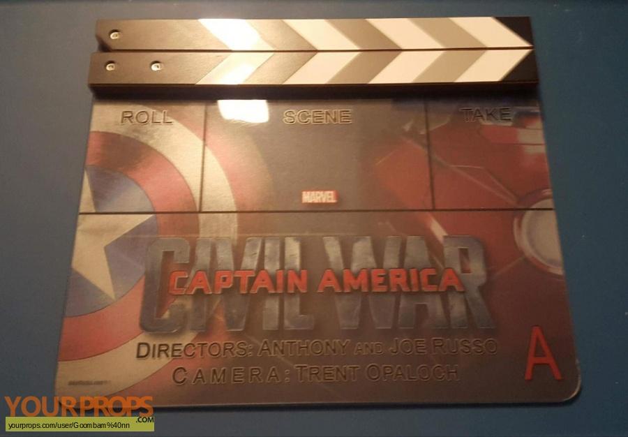 Captain America  Civil War original film-crew items