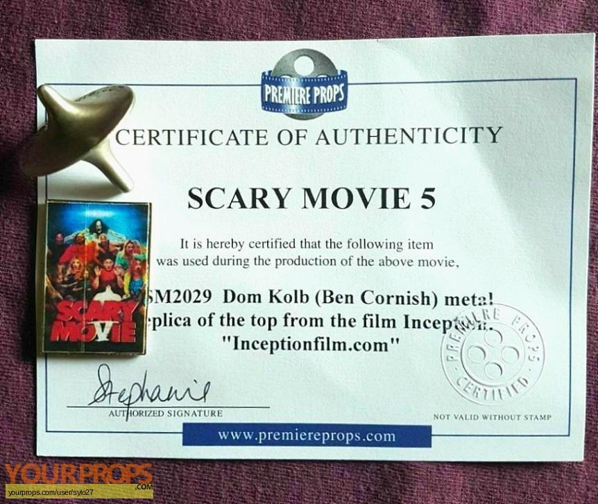 Scary Movie 5 original movie prop