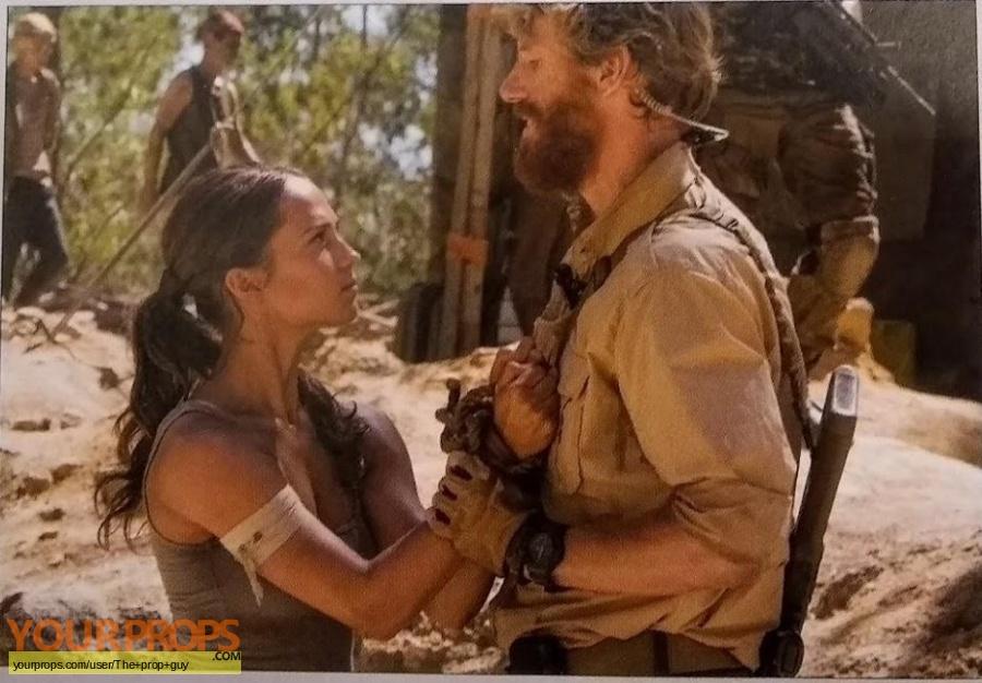 Tomb Raider original movie prop