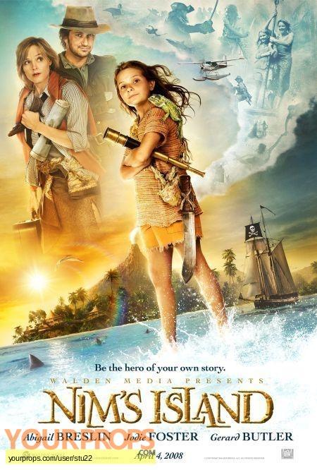 Nims Island original movie prop
