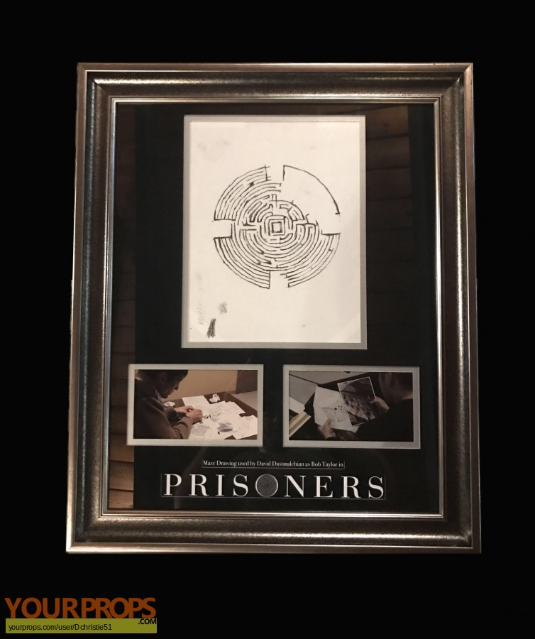 Prisoners original movie prop