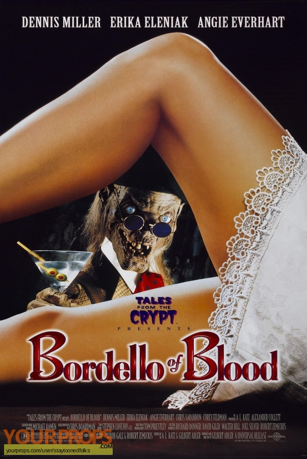 Tales from the Crypt Presents  Bordello of Blood original movie prop