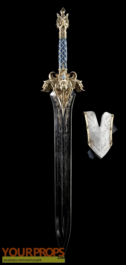 Warcraft original movie prop weapon