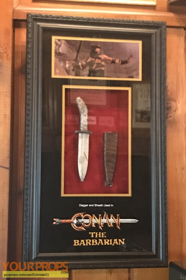 Conan the Barbarian original movie prop weapon