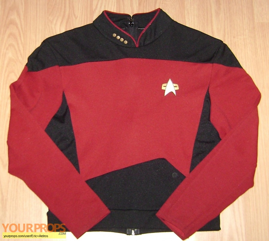 Star Trek  The Next Generation replica movie costume